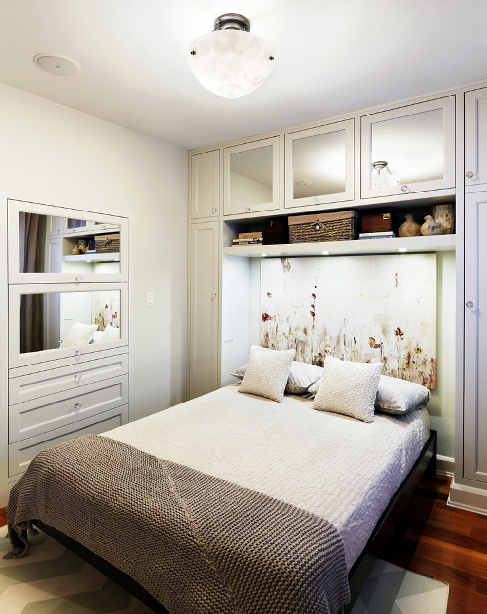 Bedroom storage ideas at Waverley-by-Sealy-Design-Inc to make the most of your space
