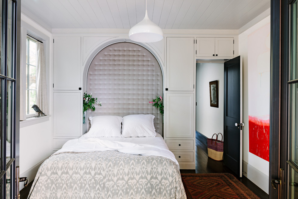 Sellwood-Library-House-by-The-Works Bedroom Storage Ideas to Make the Most of Your Space