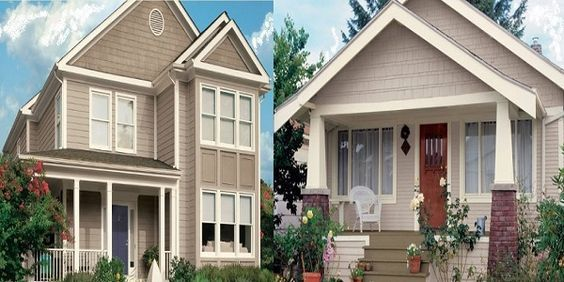 Upcoming Exterior Home Color Trends 2017 | House colors, Exterior .