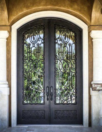 Double Iron Doors |Custom Wrought Baltic Iron Doo