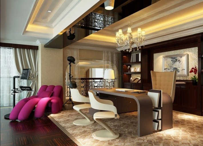 LUXURY CORPORATE AND HOME OFFICE INTERIOR DESIGN IDEAS BY BOCA DO .
