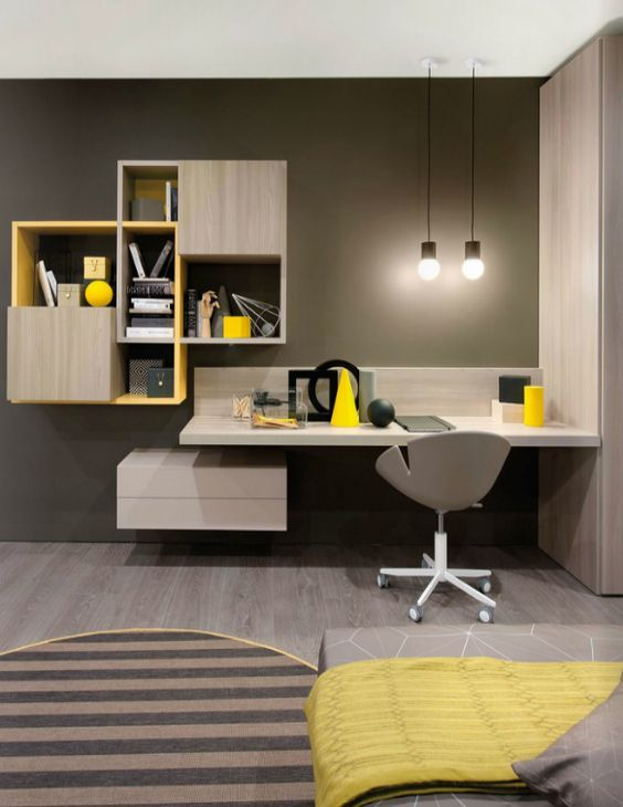 Home Office Design Ideas From The New Work Project | Study room .