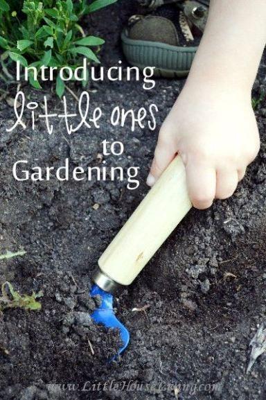 Introducing Little Ones to Gardening | Gardening for beginners .