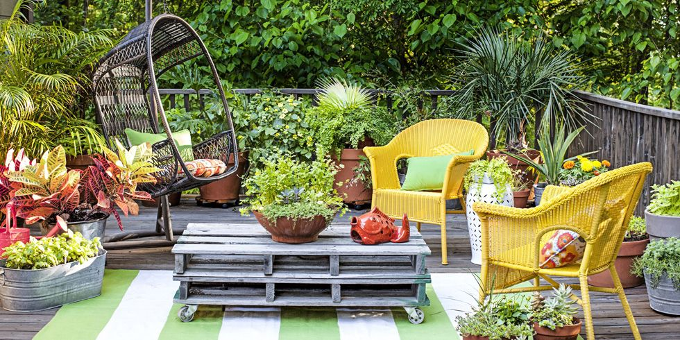 5 creative ideas to get the most out of   your garden