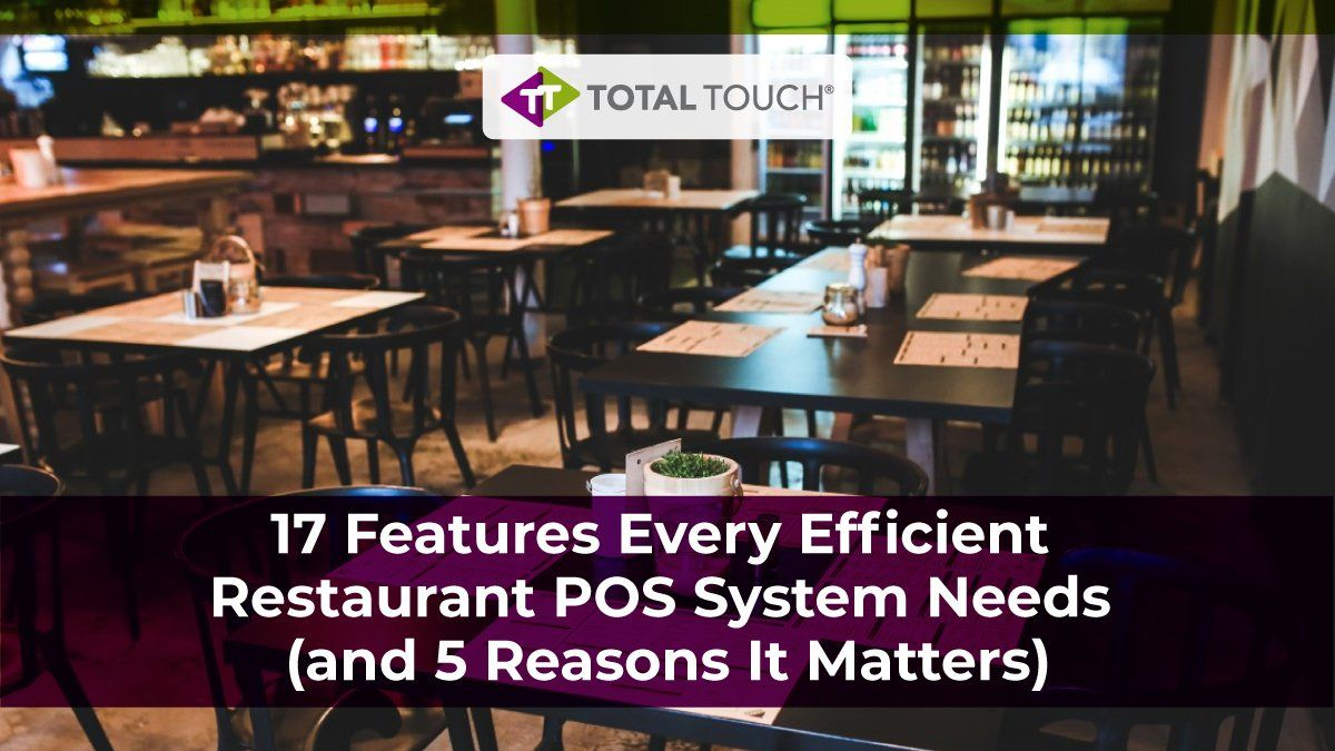 5 design features that every restaurant   must have