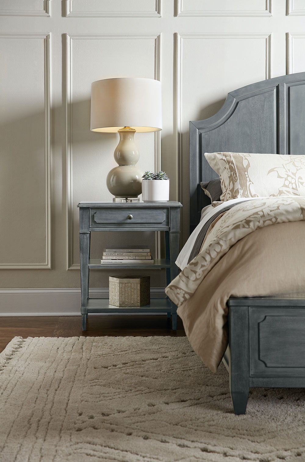 5 different types of bedside tables to   upgrade your bedroom