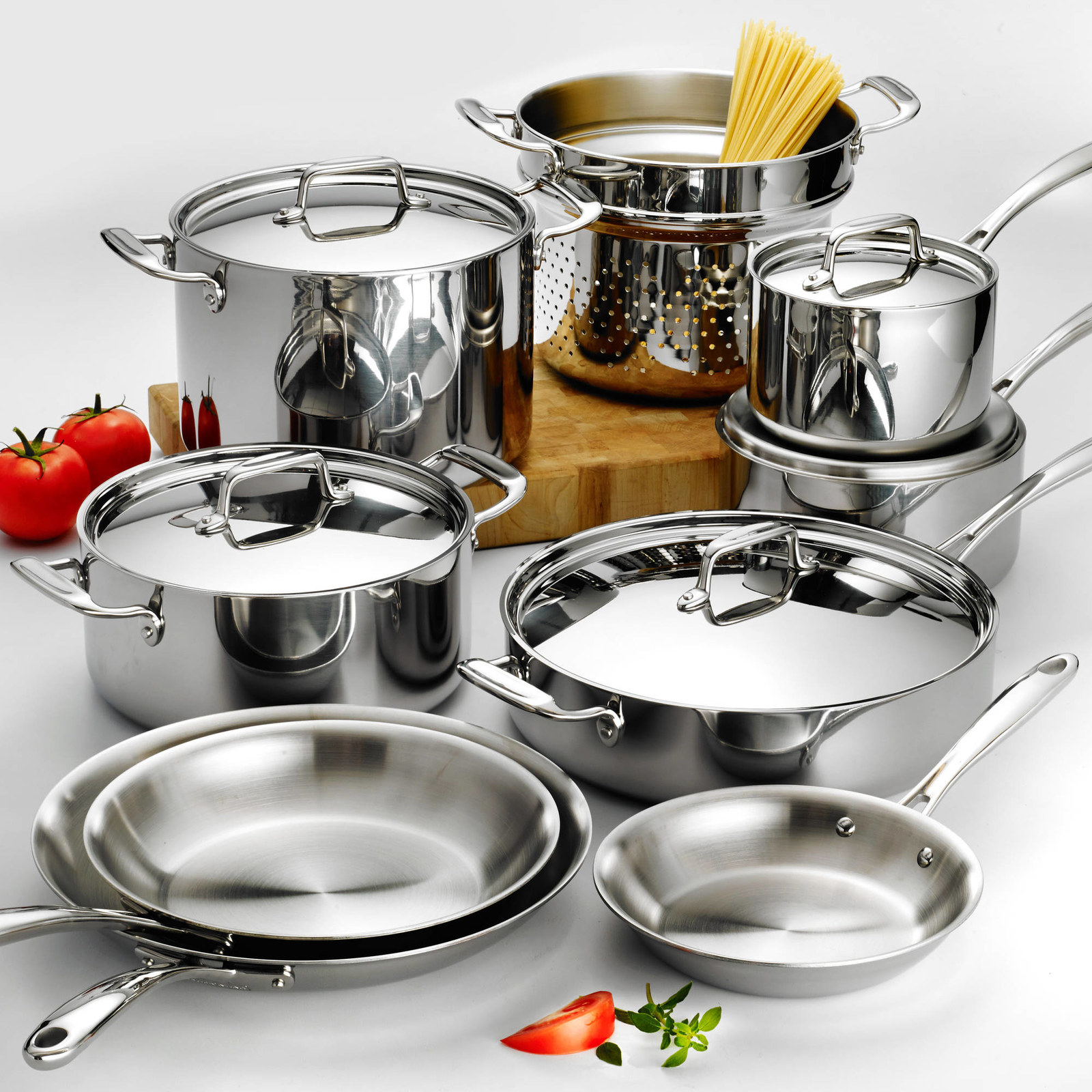 5 main advantages of using stainless   steel cookware