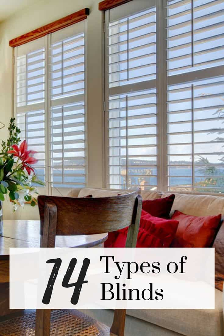 5 types of blinds and their use