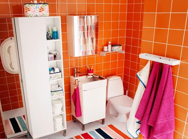 5 Simple Tips to Improve Your Bathroom Storage | IKEA UAE Bl
