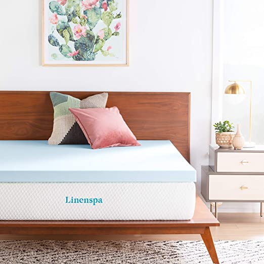 Amazon.com: LINENSPA 3 Inch Gel Infused Memory Foam Mattress .