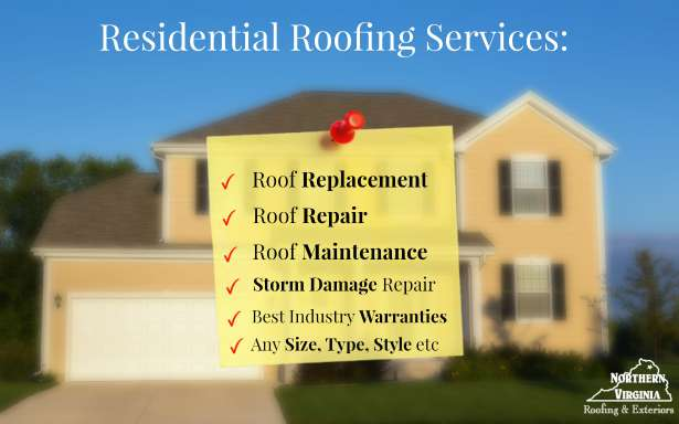 NV Roofing | Residential Roofing | Chantilly