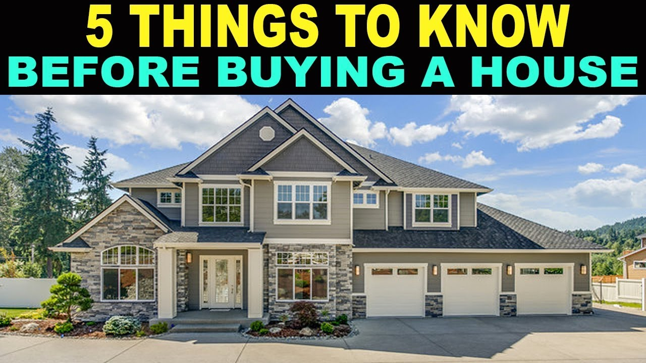 5 things to consider when buying property