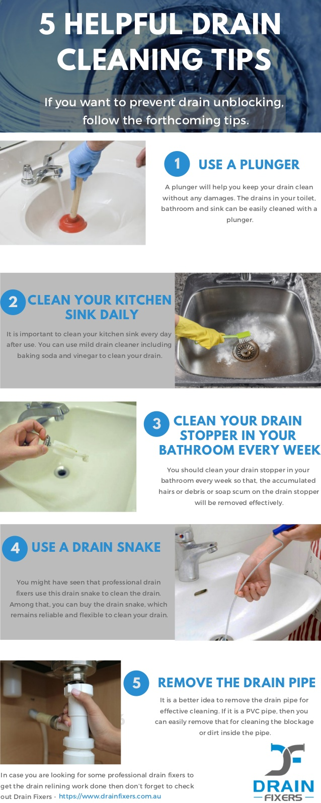 5 tips on how to keep your bathroom   drains clean