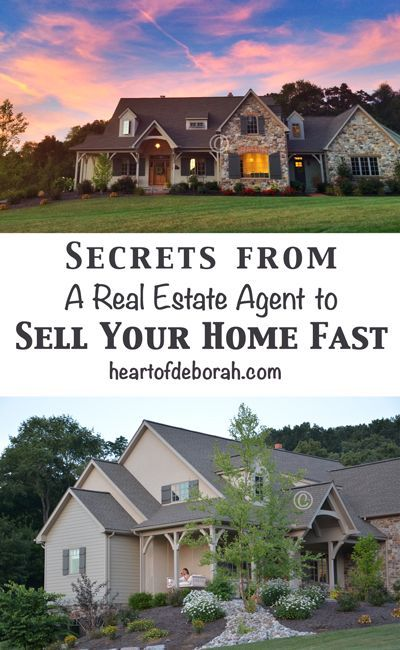 5 Tips to Sell Your Home Fast | Sell your house fast, Real estate .