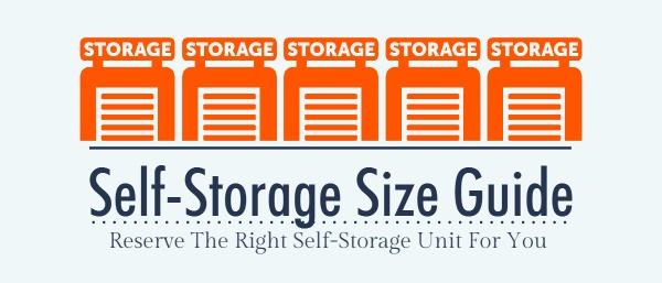 Self Storage Size Guide   U-Haul Bl