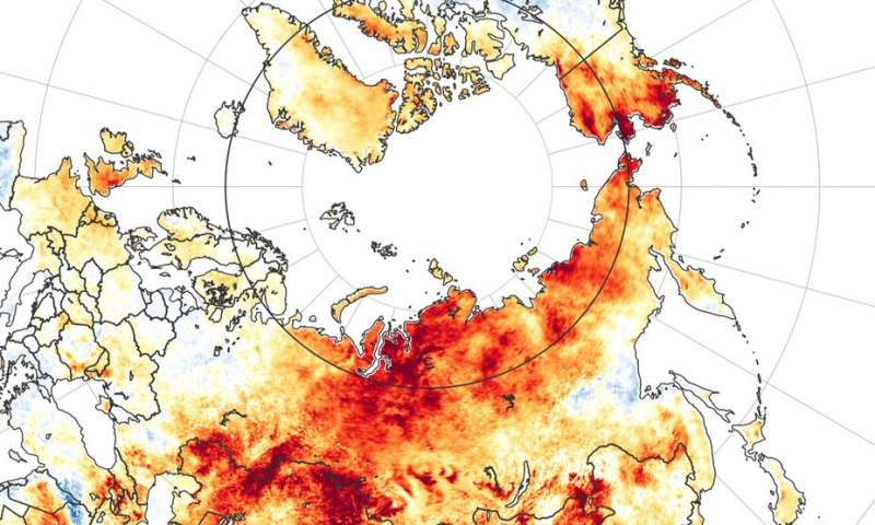 5 ways the extreme Arctic heat wave follows a disturbing patte