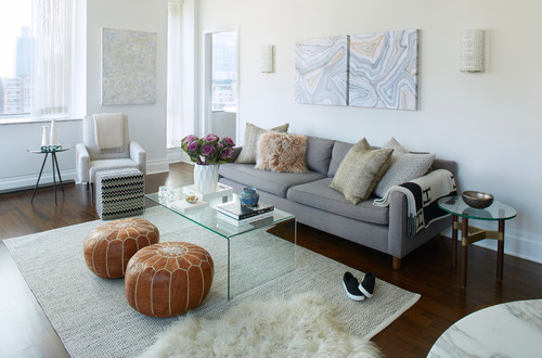 5 ways to upgrade the look of your living   room under $ 100