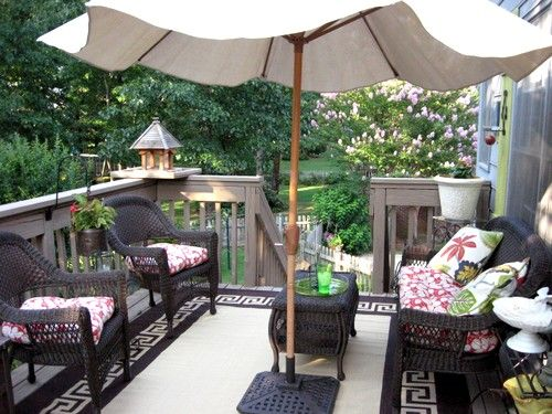 Deck Love: Top 5 Ways to Create a Cozy Porch | Deck furniture .