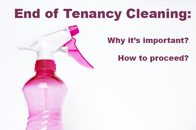 Why End of Lease Cleaning Is So Important?| End of Tenancy .