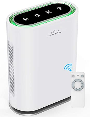 Amazon.com: MOOKA True HEPA+ Air Purifier, Large Room to 540ft², 6 .