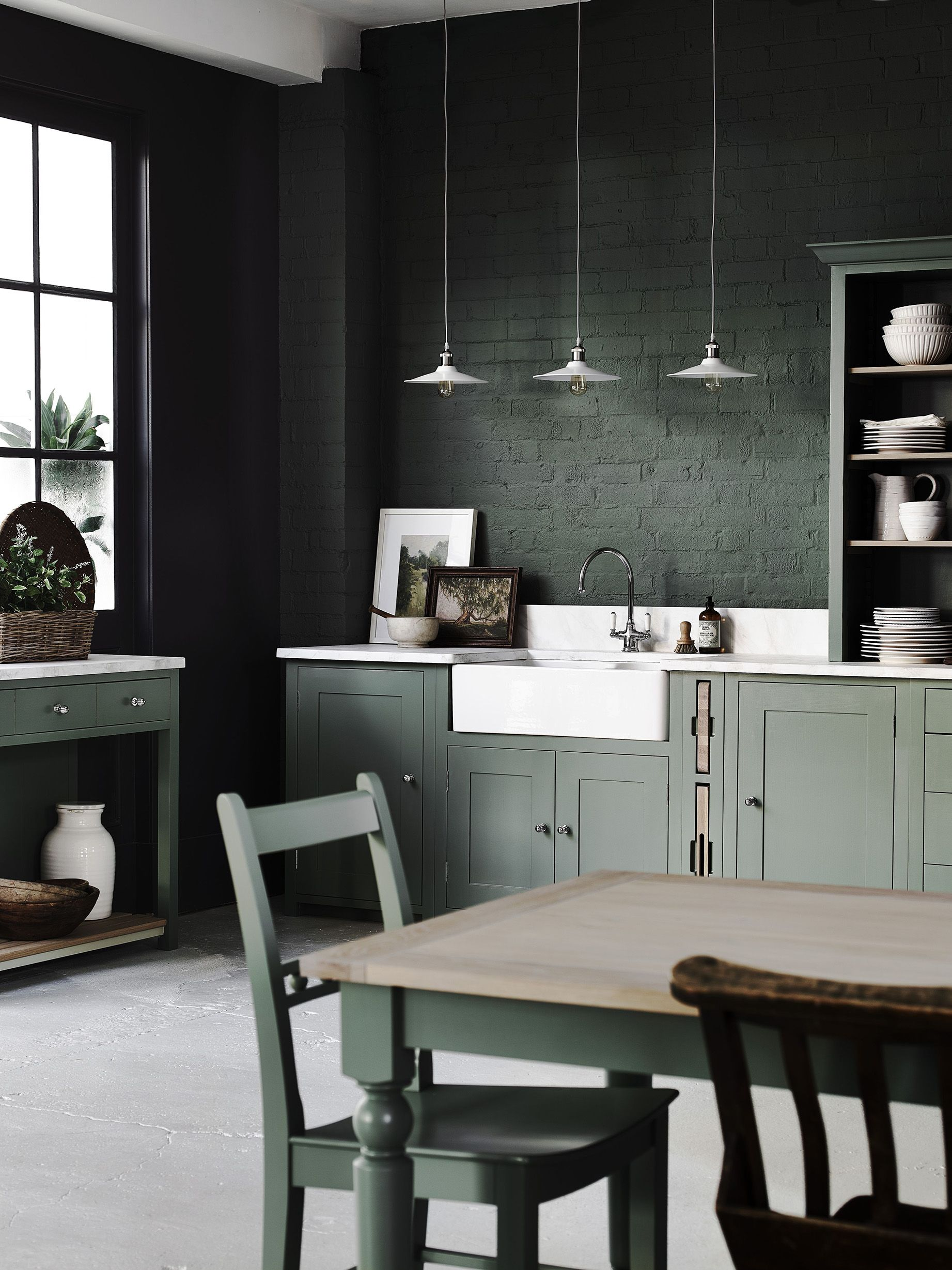 5 clever and stylish ideas for   brightening up a dark kitchen
