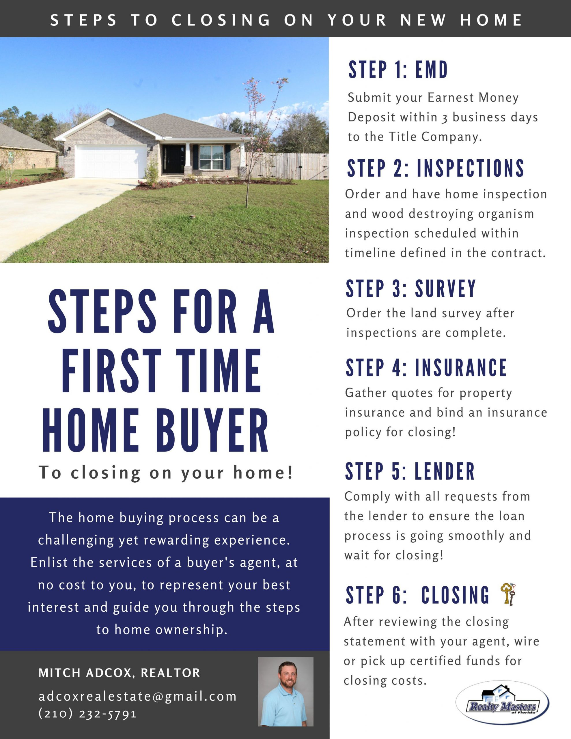 6 steps before you become a first time   homeowner