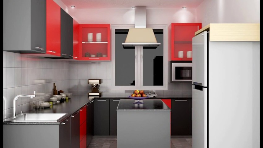 Trendy Modular Kitchen Ideas For Small Kitchens Velachery Chennai .