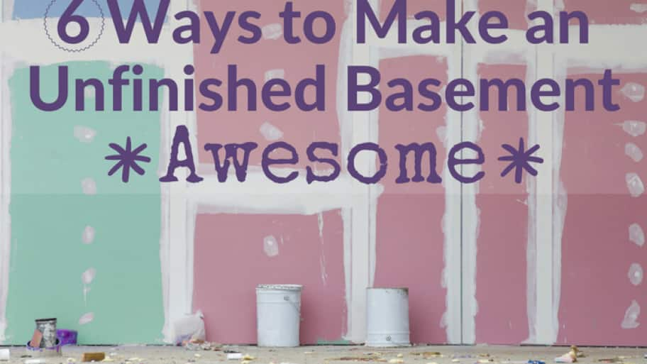 6 Ways to Make an Unfinished Basement Awesome | Angie's Li