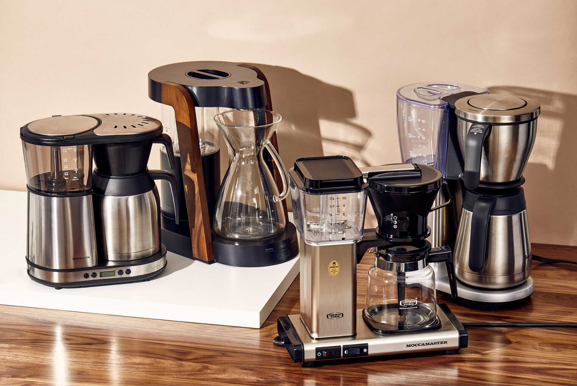 7 coffee machines flaunt your living room