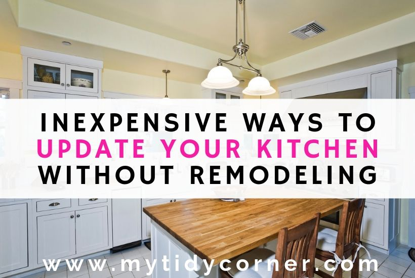 7 inexpensive ways to update your kitchen