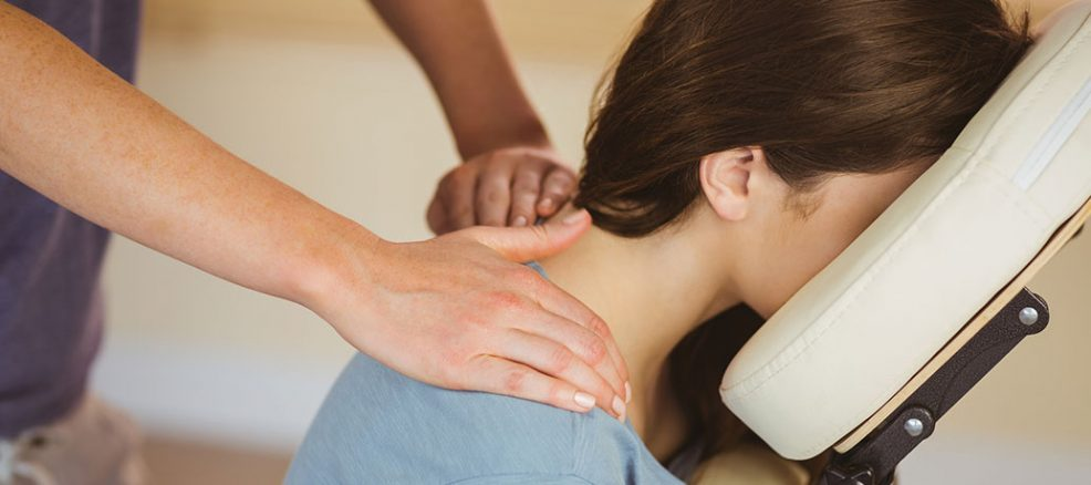 The Benefits of Chair Massage at Work - Ze