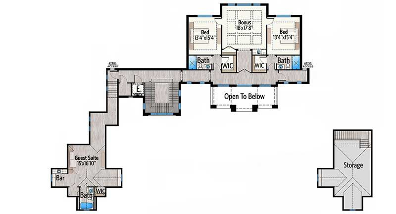 Plan 86067BW: Stunning 7-Bed Luxury House Plan | Luxury house .