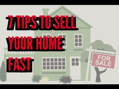 7 Tips For Selling Your Home Fast - YouTu