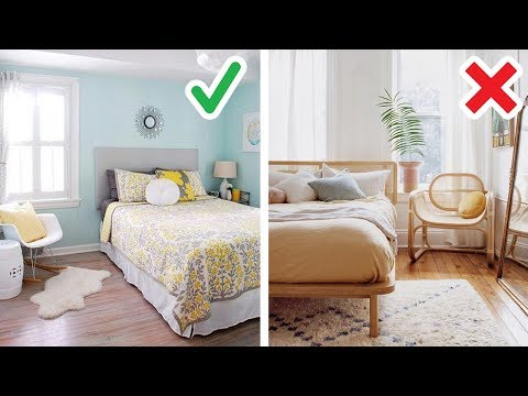 20 Smart Ideas How to Make Small Bedroom Look Bigger - YouTu