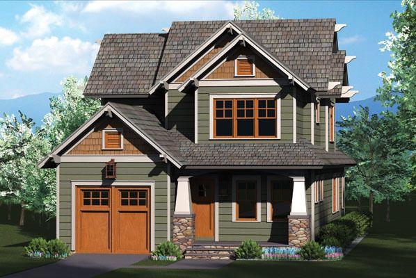 Plan 17737LV: Rustic Craftsman Home Plan | Craftsman house plans .