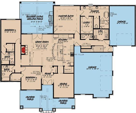Plan 70540MK: Eye-Catching Craftsman House Plan | Craftsman house .