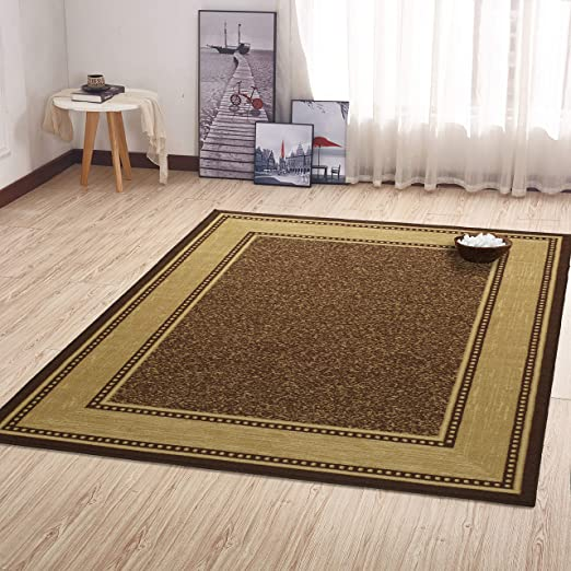 Amazon.com: Ottomanson Ottohome Collection Contemporary Bordered .