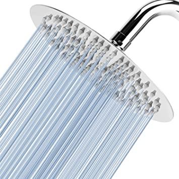 High Pressure Shower Head - Voolan 8 Inch Rain Shower head Made of .