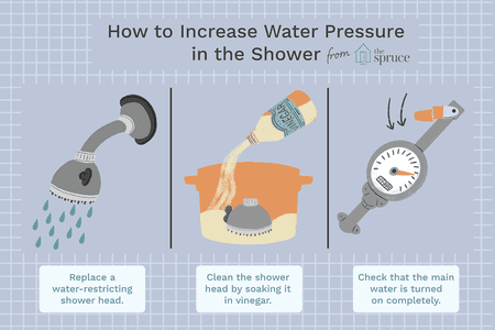How to Increase Your Low Shower Pressu