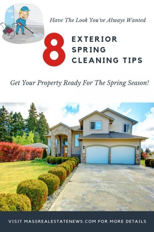 8 Outdoor Spring Cleaning Tips and Tricks | Outdoor spring .