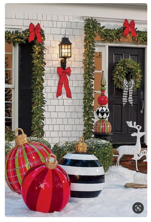 9 Amazing Outdoor Christmas Decorations Ideas That Will Bring Joy .