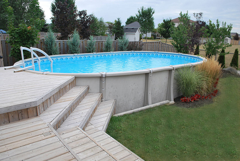 ag7 Cool above ground pool decks as inspiration for your own