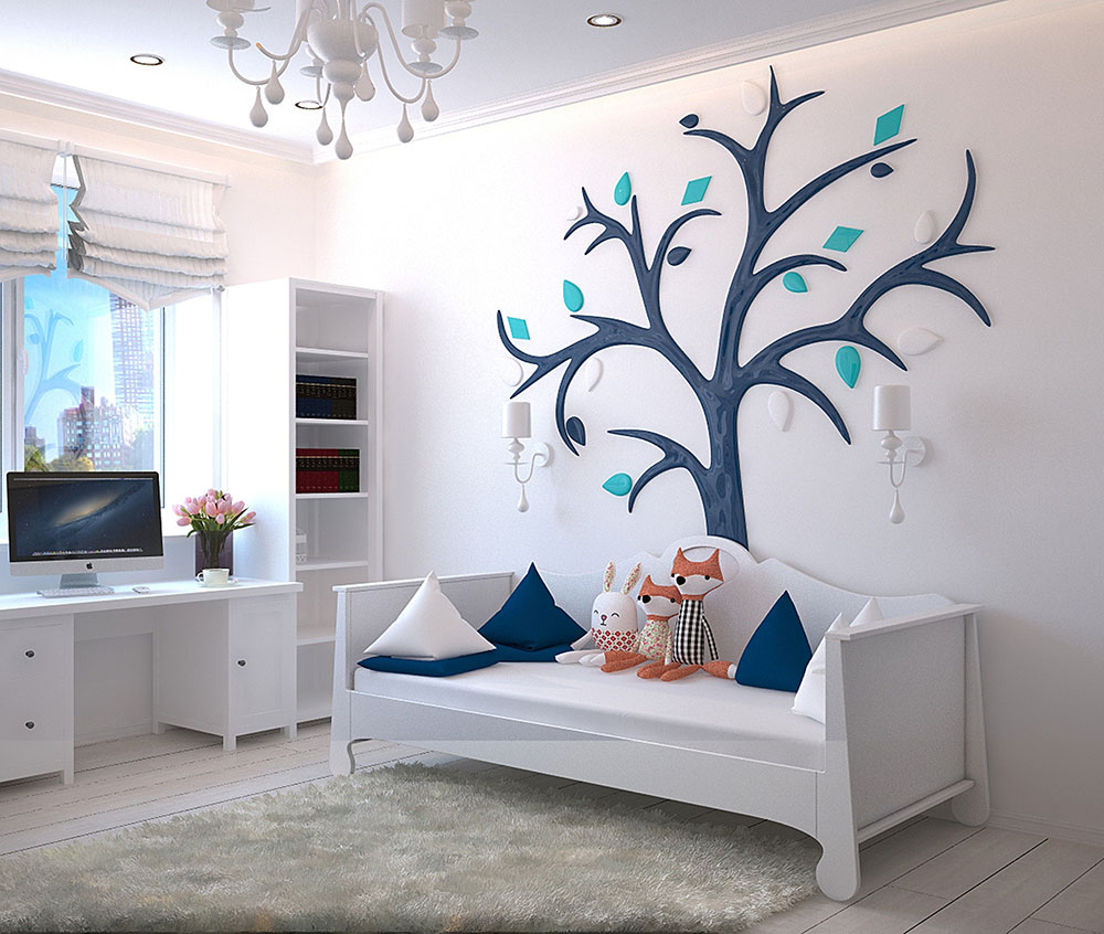 Bed-Bedroom-Children's-Room-1648768 Create a multifunctional guest room in your home