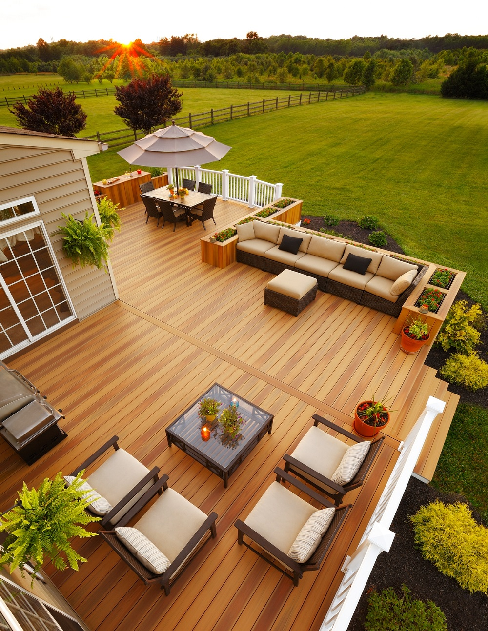 deck3-1 Opaque paint ideas to see before working on your deck