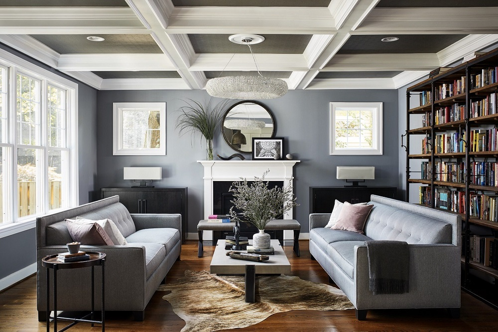 Ceil4 Great Coffered Ceiling Ideas to Try and the Costs That Will Make