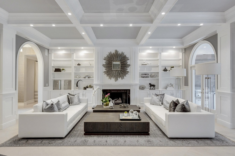 Ceil2 Great coffered ceiling ideas to try and the costs involved