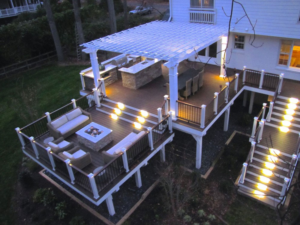Trex-Deck-and-Pergola-by-Hughes-Landscaping Fantastic ideas for deck lighting that you can use in your home
