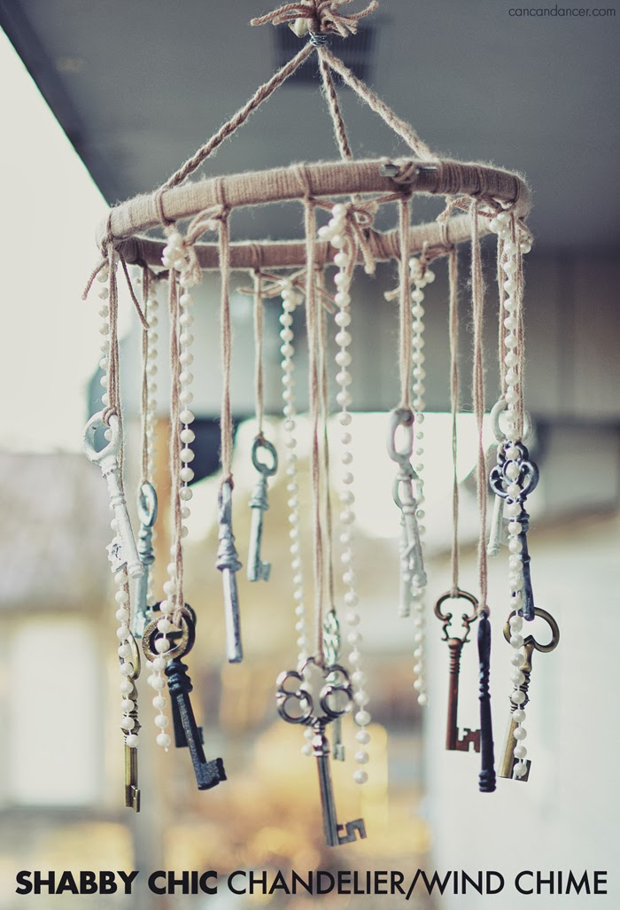 chan How to make wind chimes at home (great DIY examples)
