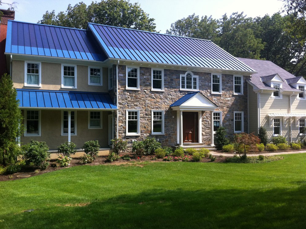 Solar-metal roof-by-global-home improvement How much does a metal roof cost on average?  Answer inside