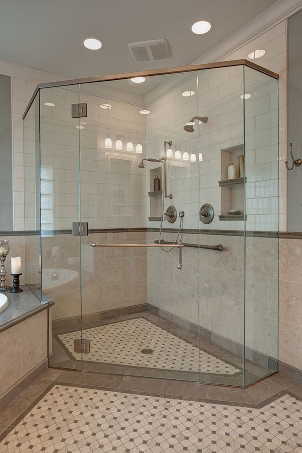 Chena-Master-Suite-von-Bauer-Clifton-Interiors How to clean the shower floor and make it sparkling clean